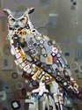 *•Great Horned Owl-SOLD