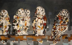 •LeClair Owls-SOLD