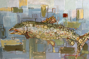 °Brown Trout 2 - SOLD